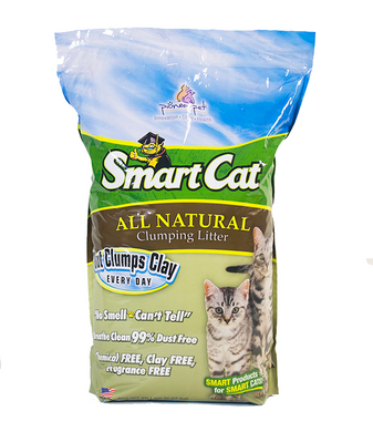 10lb SmartCat Natural Clumping Litter