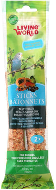 Living World Parakeet Fruit Stick (2 pk)