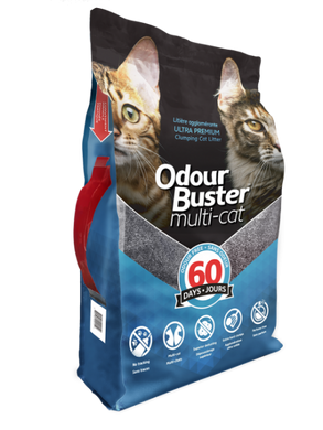 Eco Solutions Odour Buster Multi Cat Litter 12kg