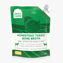Load image into Gallery viewer, Open Farm Bone Broth Turkey for Dogs 12oz