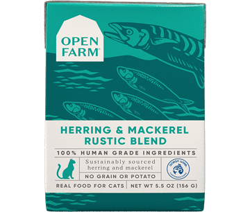 Open Farm Herring & Mackerel Rustic Blend for Cats 5.5oz