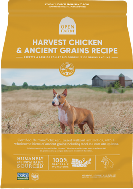 11lb Open Farm Ancient Grains Harvest Chicken for Dogs