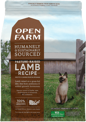 4lb Open Farm Pasture Raised Lamb for Cats