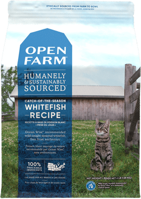 8lb Open Farm Whitefish for Cats