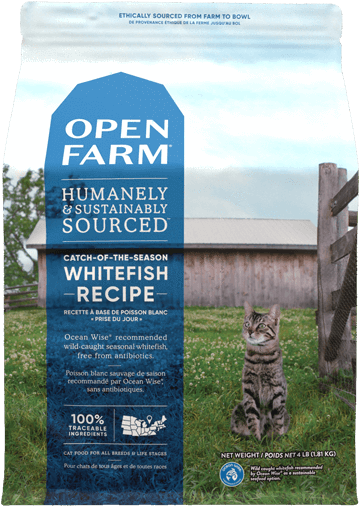 4lb Open Farm Whitefish for Cats