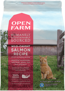 4lb Open Farm Wild Salmon for Cats