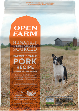 12lb Open Farm Pork & Root Veg for Dogs