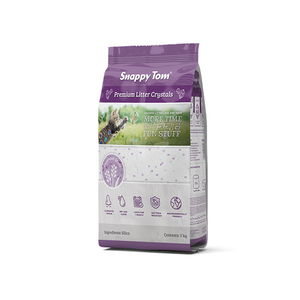 Snappy Tom Litter Crystals Lavender 4kg