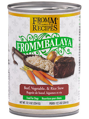 Fromm Frommbalaya Beef Stew for Dogs 12.5oz