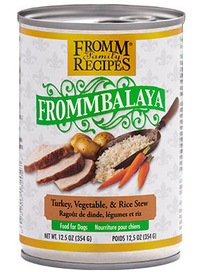 Fromm Frommbalaya Turkey Stew for Dogs 12.5oz