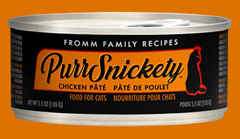 Fromm PurrSnickety Chicken Pate for Cats 5.5oz