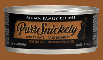 Fromm PurrSnickety Turkey Pate for Cats 5.5oz