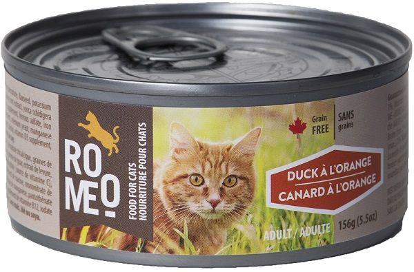 Romeo Duck A L'Orange for Cats 5.5oz