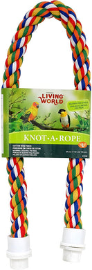 Living World Multi-Coloured Cotton Perch - 26
