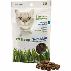 Pet Greens Cat Treats Deep Sea Tuna 3oz