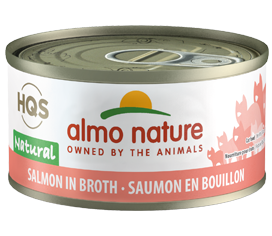 Almo Nature Salmon In Broth for Cats 2.5oz Can