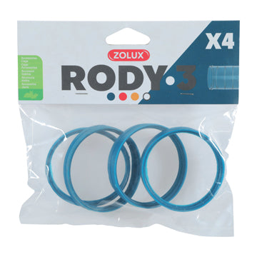 Rody3 ConnectorRing4pk,Blue