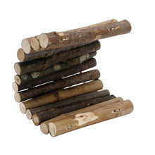 Load image into Gallery viewer, Living World Tree House Real Wood Logs - Medium