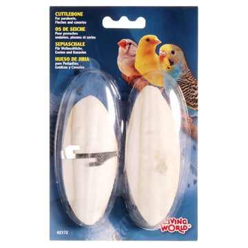 Living World Small Cuttlebone - 2 pk
