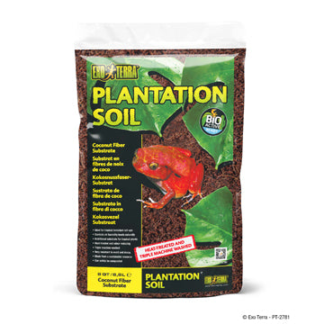 Exo Terra Plantation Soil - Bag - 8 qt (8.8 L)