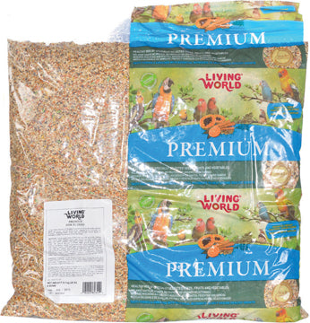 Living World Premium Mix For Budgies - 9.07 kg (20 lb)