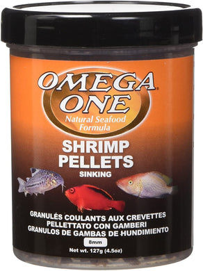 Omega One Sinking Shrimp Pellets 4.5 oz