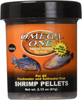 Omega One Shrimp Pellets 2.15 oz