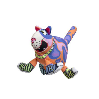 FUZZU Sneaky Cat! Scuff Dog Toy - Large