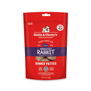 Stella & Chewy's Freeze Dried Absolutely Rabbit Dinner 5.5oz