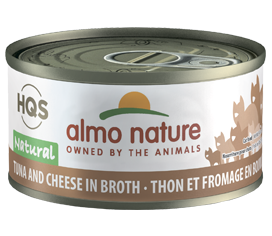 Almo Nature Tuna & Cheese In Broth for Cats 2.5oz Can