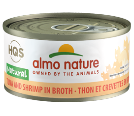 Almo Nature Tuna & Shrimp In Broth for Cats 2.5oz Can