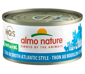 Almo Nature Atlantic Tuna In Broth for Cats 2.5oz Can