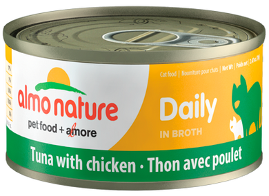 Almo Nature Daily Tuna with Chicken for Cats 2.47oz