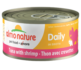 Almo Nature Daily Tuna with Shrimp for Cats 2.47oz