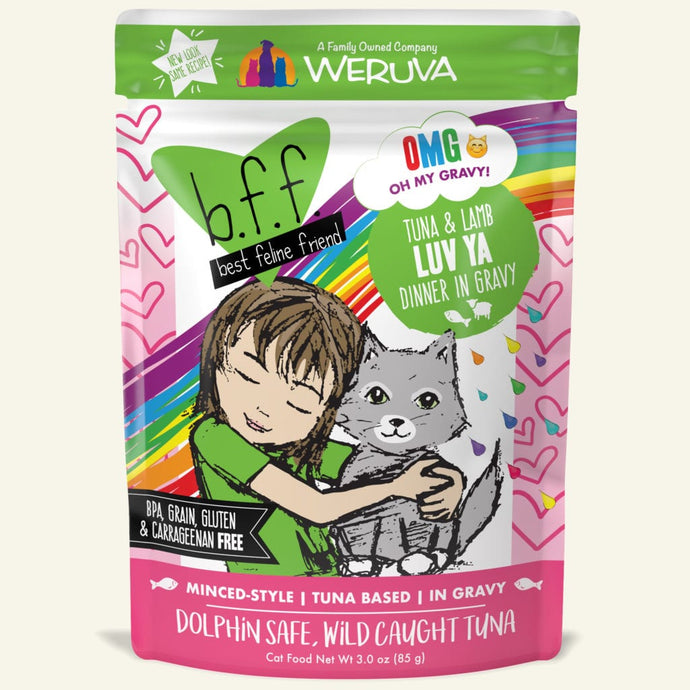 Weruva BFF Tuna & Lamb for Cats 3oz Pch