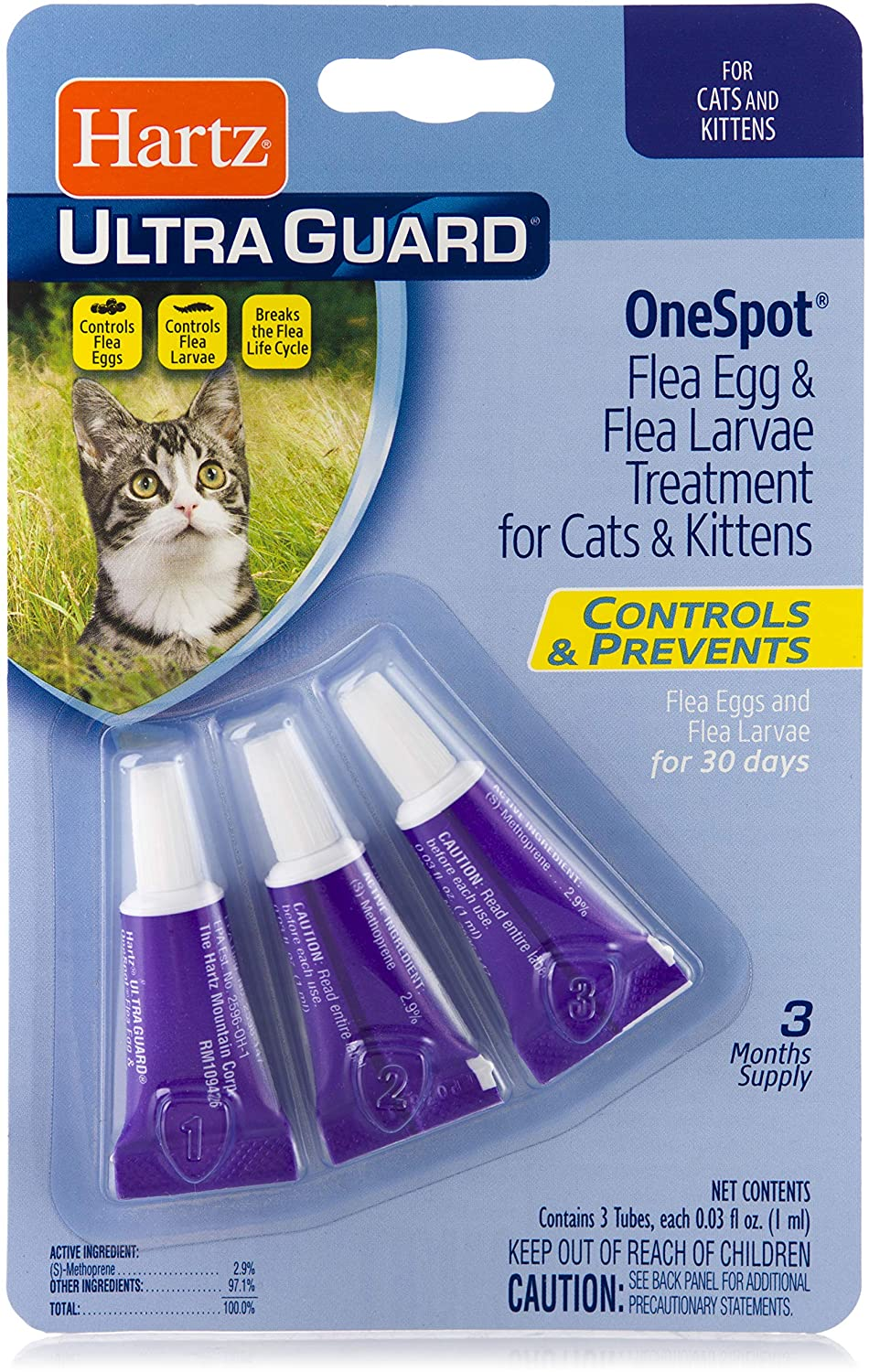 Ultraguard One Spot Treatment for Cats