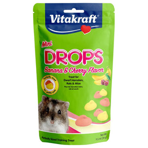 Vitakraft Mini Small Animal Drops - Cherry/Banana