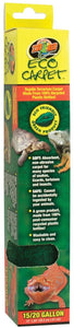 Zoo Med Eco Carpet 12x24 15/20 gal
