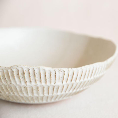 Carved Salad Bowl