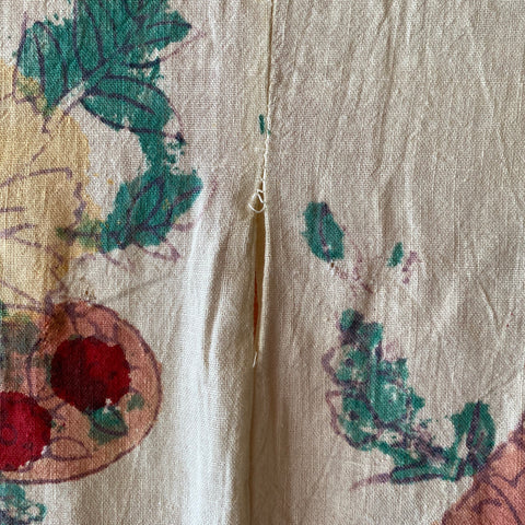Vintage Cotton Tapestry