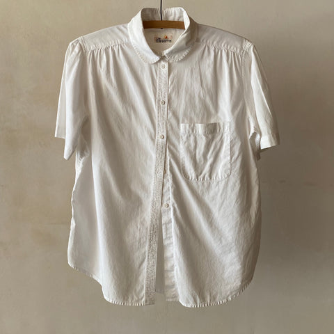 Vintage White Button Up