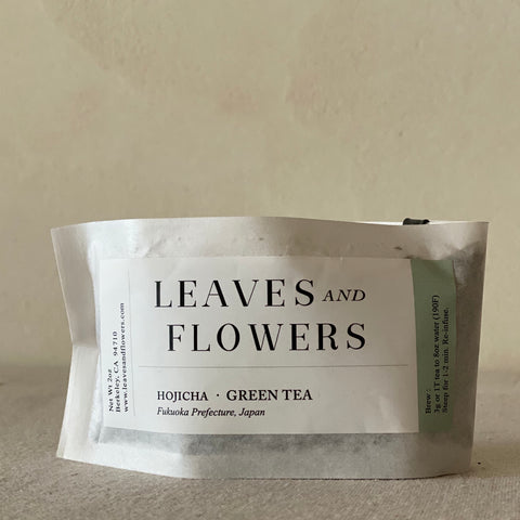 Leaves and Flowers Tea