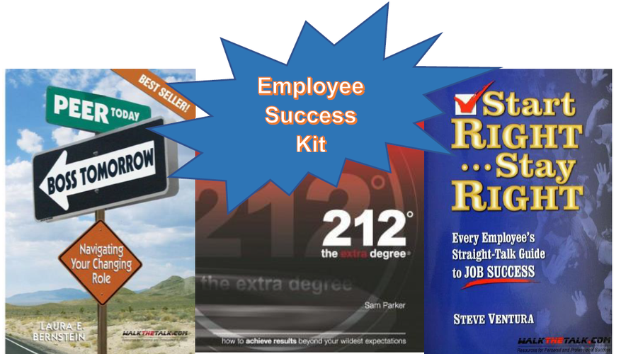Employee Success Kit (Top 3 Best Selling Books)