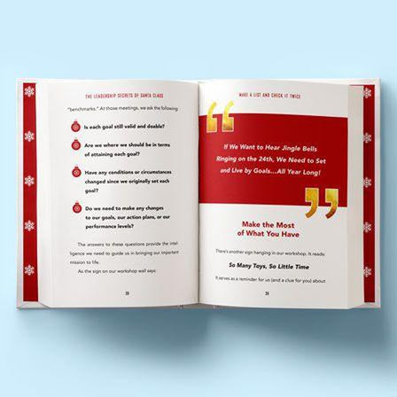 The Leadership Secrets of Santa Claus Book - Eric Harvey