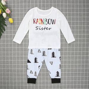 Rainbow Family Matching Sleepwear