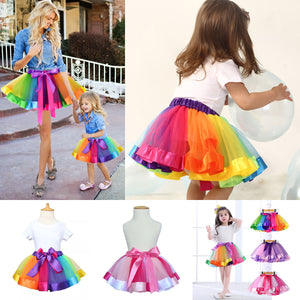 Mommy and Me Rainbow Tutu