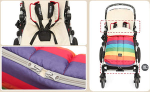 Rainbow Stroller Sleeping Bag