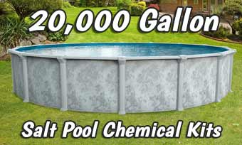 Salt Pool Opening Kits - 20,000 Gallons