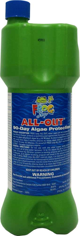Frog Pool - All Out Algea Pacs 1 Cartridge
