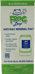 Frog Pool - Anti Pac Minearl Pac up to 40,000 gallons 1 Cartridge